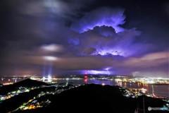 Blue lightning (去りゆく夏)