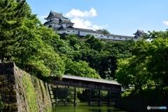 和歌山城と御橋廊下