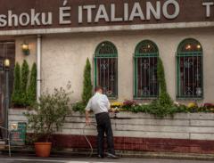 イタリアーノ開店準備中
