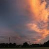 DSC00517. 夜明けの高く伸びた雲