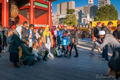 DSC05184-夕陽の浅草にて