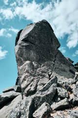 五丈岩の横顔