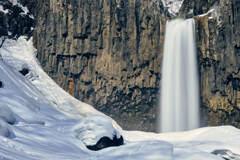雪国の滝③