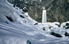 雪国の滝②