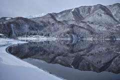 幻想の青木湖
