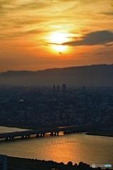 大阪空中庭園からの景色1