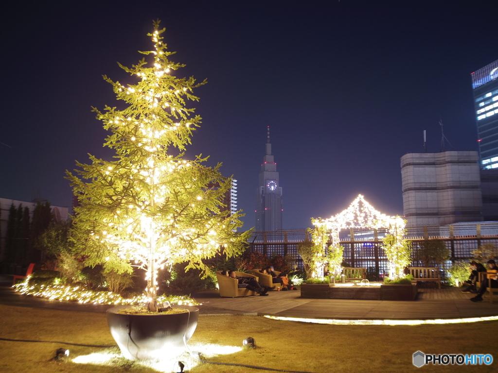 新宿マルイ本館 屋上庭園4