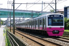 千葉線を走る新京成