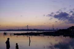 静寂の湖畔