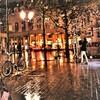 雨も似合う町パリ