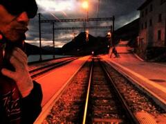 スイスの駅