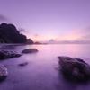 夜明け前の海II