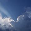ゲリラ豪雨の後の空