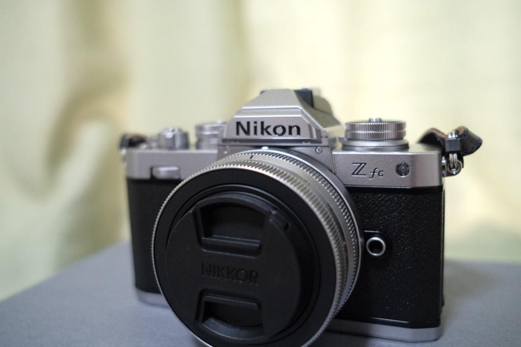 Nikon Zfc手に入れました!