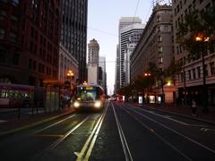 San Franciscoの路面電車