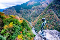 祖谷渓の秋