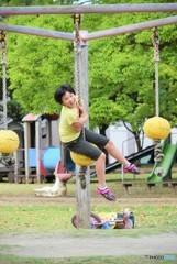 Active girl♪