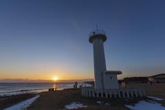 新しい年は常にこの灯台から始まる...