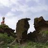 侵食と灯台