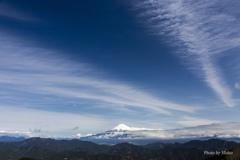 清水区吉原からの富士山
