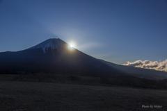朝霧より富士山を
