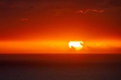 ハワイの夕日(4)