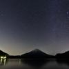 精進湖 流星