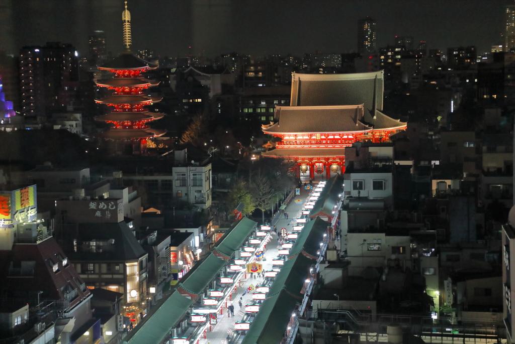 浅草寺夜景