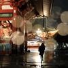 雨の仁王門