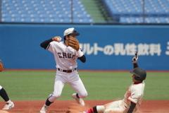 2塁ベースの攻防