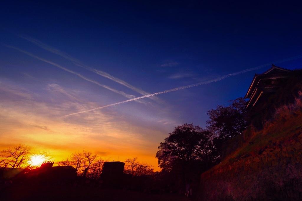 真田幸村が見た夕陽