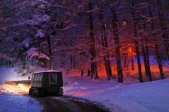 冬のソラテラスへ