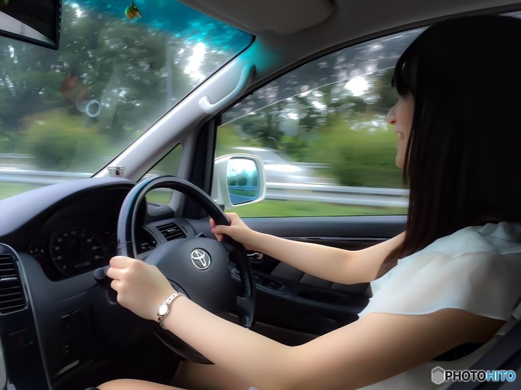 高速運転楽しい~(*ˊૢᵕˋૢ*)