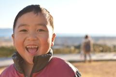 沼津のインターでメッチャ笑顔( ´_ゝ`)