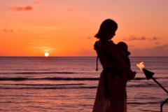 グアムの夕陽3