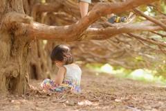 森と碧依と大瑚の足
