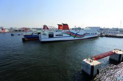 新門司から大阪南港へ