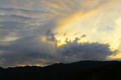 ガラにもなく雲を撮ってみる