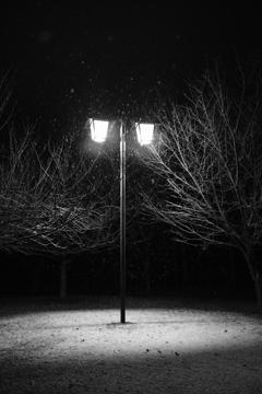 2月の雪の夜2