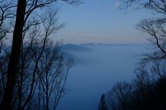 静かな雲の海