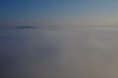 広々と雲の海