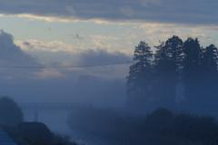 朝の田園風景 その2