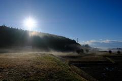朝の田園風景 その3