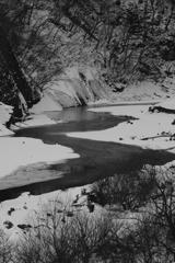 凍る湖 その4