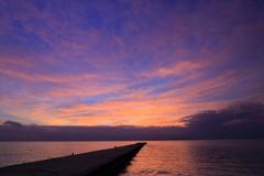 西桟橋~黄昏時~