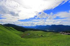 立秋の高原