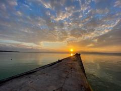西桟橋~夕焼け~2021.2.24