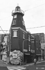 街中の燈台