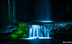 目黒雅叙園の滝
