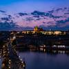 プラハの日没